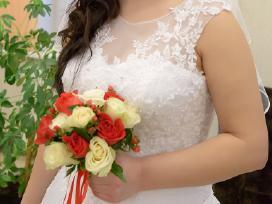 Parduodu vestuvinę suknelę - nuotraukos Nr. 3