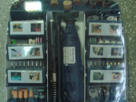 Graveris-šlifuoklis su lanksčiu ilgintuvu 220v