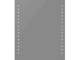 Sieninis Vonios Veidrodis su Led Apšvietimu vidaxl