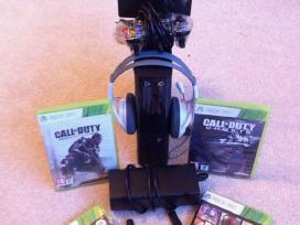 Xbox360 atrištas su kinect ir Garantija 12mėn