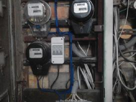 Elektros darbai bei signalizacijos pajungimas