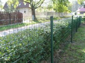 Segmentinės, tinklinės, medinės tvoros, vartai! - nuotraukos Nr. 3