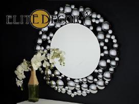 Įspūdingo grožio veidrodžiai, veidrodis su rėmu