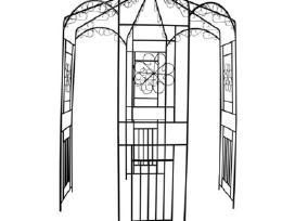 Arka Vijoklinėms Rožėms 250 cm - vidaxl