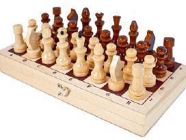 Šachmatai, Nardai ( mediniai), šaškės