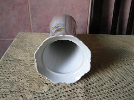 Porceliano Vaza Lfz .Zr. Foto .Be Defektu .