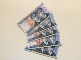 Dešimt litų banknotas 10 Litų