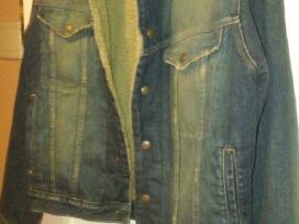 Abercrombie & Fitch šilta džinsinė striukė