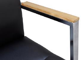 Juoda Dirbtinės Odos Biuro Kėdė, vidaxl (20083)