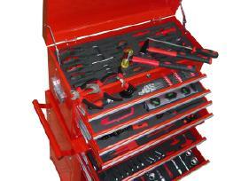 Įrankių Dėžė su Ratukais, su 250 Įrankių vidaxl