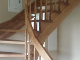Medines durys, laiptai