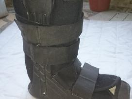 Pėdų masažuoklis ir potrauminis įtvaras