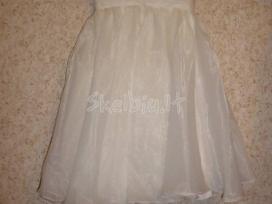 Pūsta vestuvinė/išleistuvių suknelė