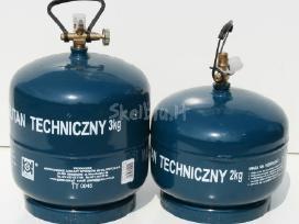 Nauji dujų balionai dujų balionas