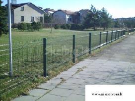 Tvoros segmentinės, tinklinės prekyba,montavimas - nuotraukos Nr. 5