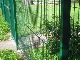Tvoros segmentinės, tinklinės prekyba,montavimas