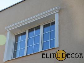 Fasado dekoravimo elementai, profiliai ,dekoras