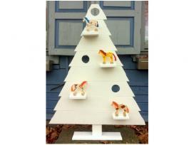 Medinė kalėdinė eglė - Kaledine dekoracija