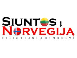 Lietuva - Norvegija - Lietuva siuntos tik 15 Eur