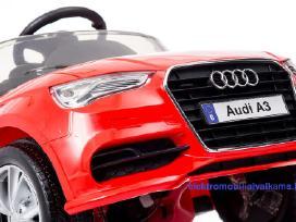 Elektromobilis vaikams Audi A3 Licenzijuotas - nuotraukos Nr. 5