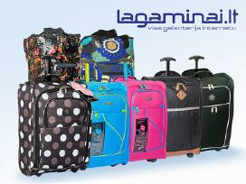 Įvairūs lagaminai internetu