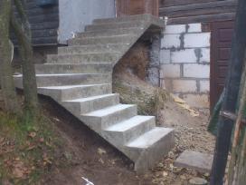 Projektuoju ir betonuoju laiptus,ir ne tik.