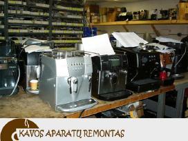 Kavos aparatų remontas Kaunas + Klaipėda