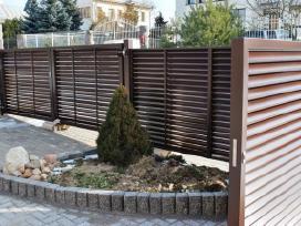 Skardos lankstiniai, tvoros