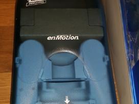 Enmotion automatiniai: rankšluostinė ir muilinė