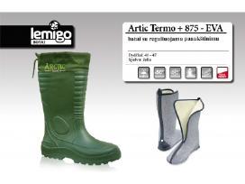 Labai lengvi, šilti Lemygo Arctic Termo batai -50c