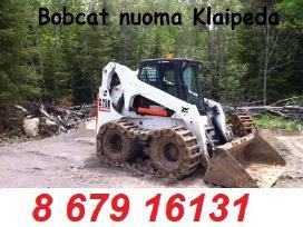 Bobcat nuoma Klaipėda