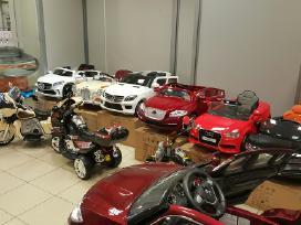 Nauji elektromobiiai vaikams nuo 80eur