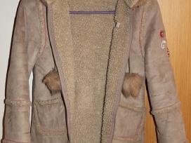 Parduodu Paltuka su kailiuku 122 cm