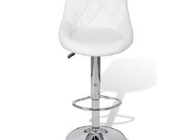 2 Baltos Baro Kėdės 240466 vidaxl - nuotraukos Nr. 3