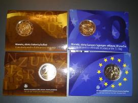 2 eur- Lietuvių kalbai, Es vėliava, baltų kultūrai