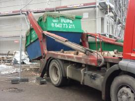 Konteineriai statyboms šiūkšlių Wc buitiniai sande