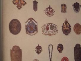 Perku ženkliukus, senoviniai ženkliukai