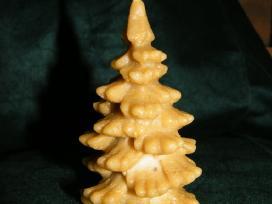 Natūralaus vaško rankų darbo žvakės - nuotraukos Nr. 7