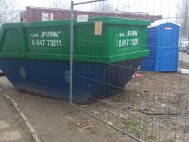 Konteineriai šiūkšlių jūrinia buitiniai gruzui wc