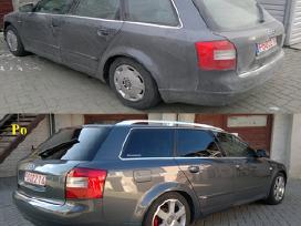 Automobilių cheminis valymas-poliravimas Palangoje