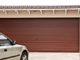 Kokybiški nebrangūs garažo vartai, montavimas