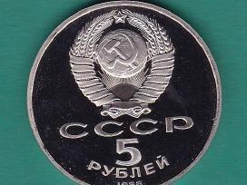 Rusija,moneta 5 rublių 1988m.sofija N157+*