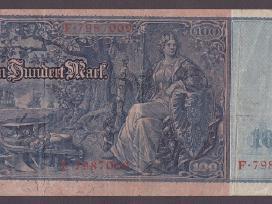 Vokietija kupiura 100 mark 1910 N26+*