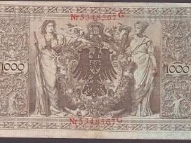 Vokietija kupiura 1000 mark 1910 N40+*