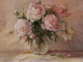 Bijūnai, oil on canvas 50x70,150 eur
