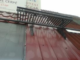 Metalinė čerpė, trapecinis profilis