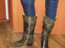Žieminiai kaubojiški batai