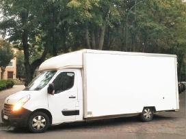 Saugus baldų pervežimas Vilniuje 15€