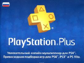 Playstation Plus Card 365 Days (Psn) (russia)+kiti