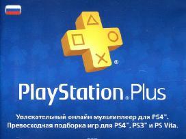Playstation Plus Card 365 Days (Psn) (russia)+kiti